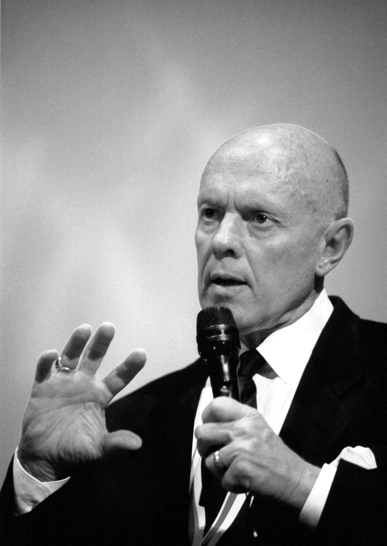 Live, Love, Laugh, Leave a Legacy. Dr. Stephen Covey changed my life. He made me think about what's truly important in my life.